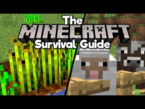How To Start A Farm! ▫ The Minecraft Survival Guide (1.13 Lets Play / Tutorial) [Part 2]