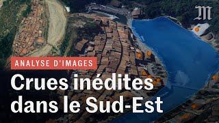 Crues dans les Alpes-Maritimes : les vidéos et données satellite dévoilent une catastrophe inédite