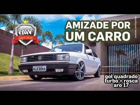 Gol Quadrado + Turbo + Rosca + Aro 17   HGV Club