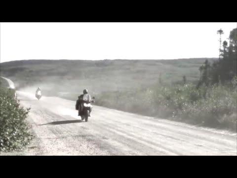 Motorcycle Trans-Labrador Highway Canada