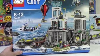 LEGO CITY: ОСТРОВ ТЮРЬМА 60130 обзор конструктора Лего новинки 2016 года