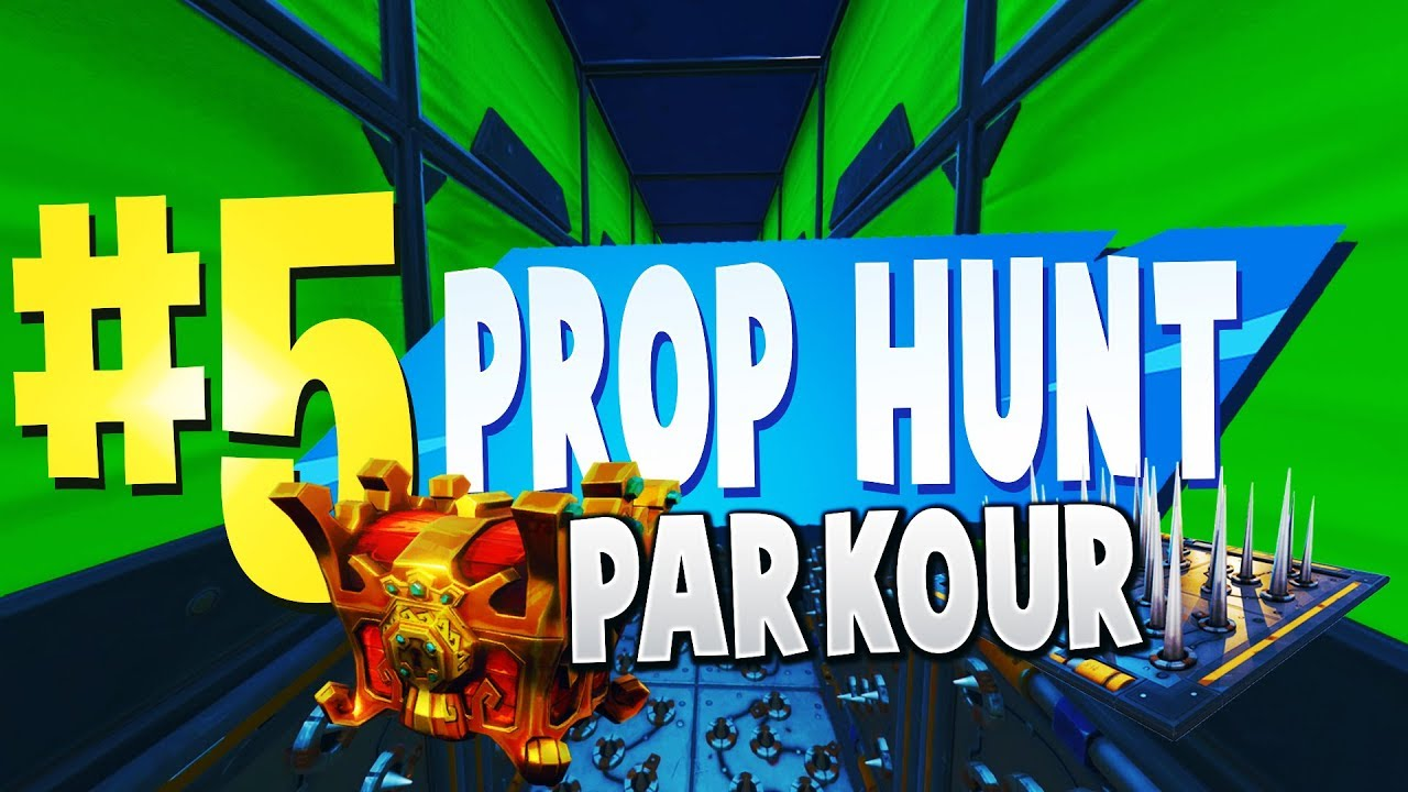 TOP 5 BEST PROP HUNT PARKOUR Creative Maps In Fortnite | Fortnite Prop Hunt  Map CODES