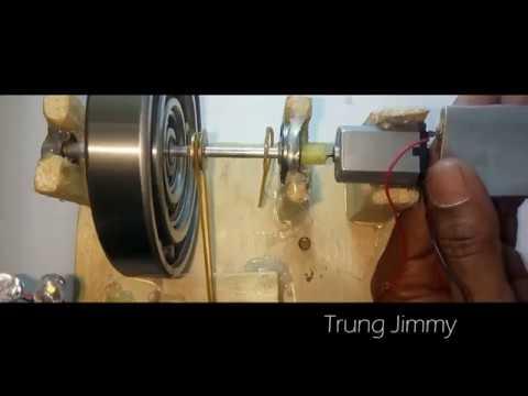 [Đã Thành công] Chế máy phát điện vĩnh cửu  - Động cơ tạo năng lượng vĩnh cửu