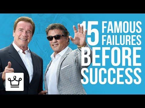 15 FAMOUS FAILURES Before Success
