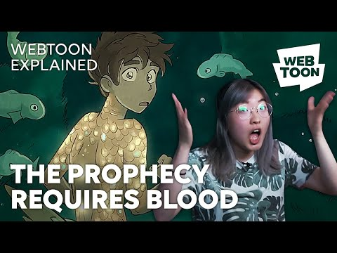 THE PROPHECY REQUIRES BLOOD • Castle Swimmer • WEBTOON
