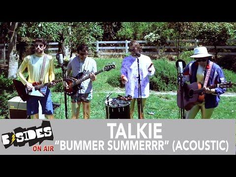 "Talkie Perform ""Bummer Summerrr"" Acoustic"