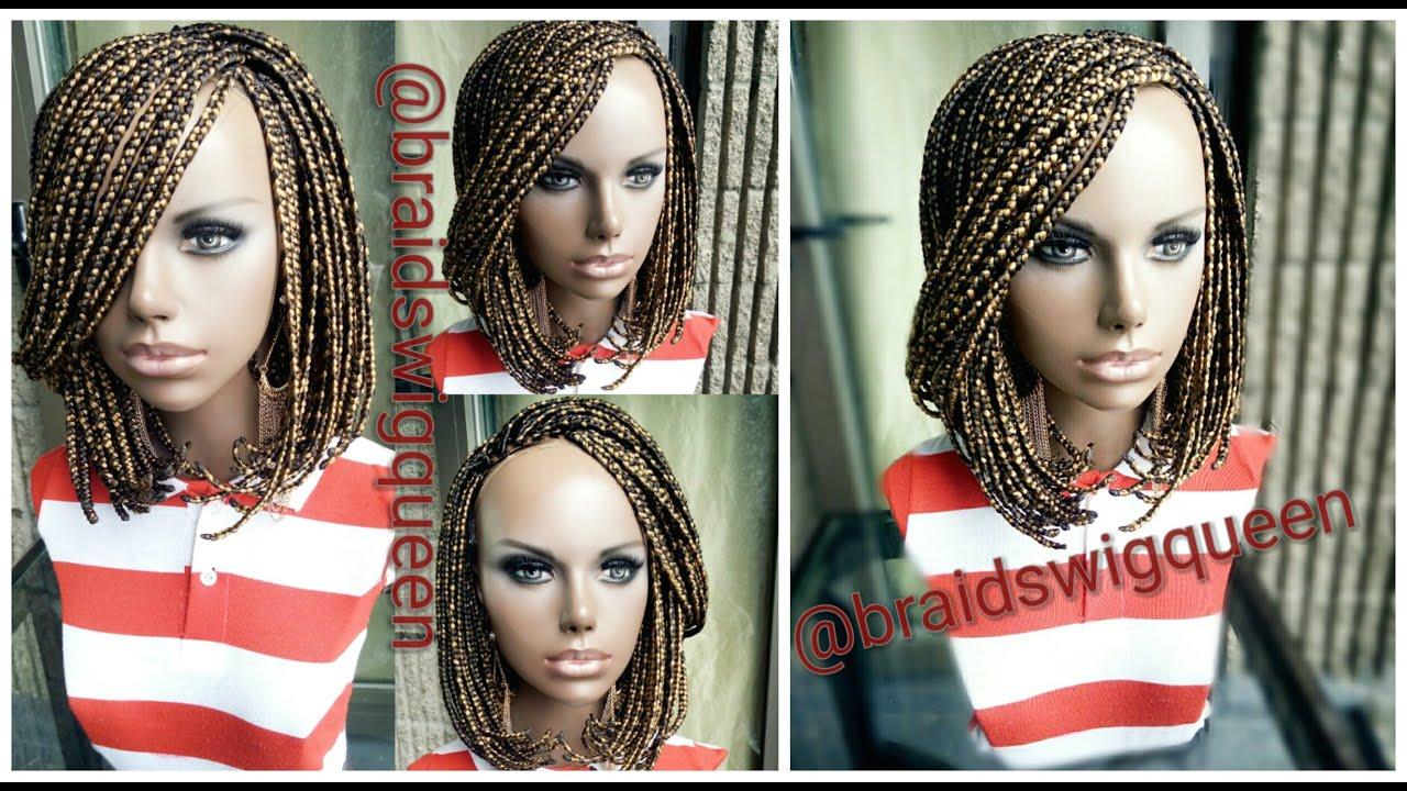 How To Bob Box Braid Wig