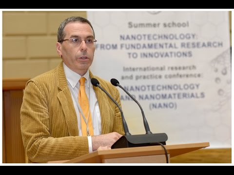 Prof. Gianmario Martra (Italy) on NANO2014 conference, Nanotwinning project
