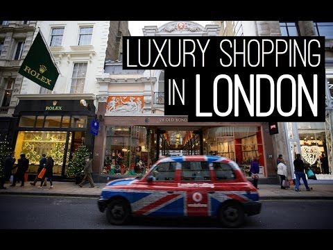 LUXURY SHOPPING IN LONDON !!!
