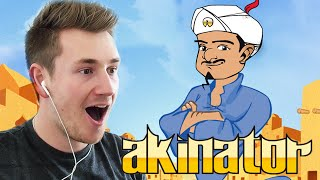 HOW DOES HE KNOW! | Akinator