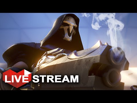 Overwatch Gameplay | (Don't) Fear the Reaper | Live Stream (PART 4)
