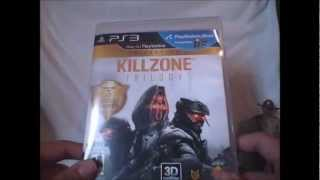 Killzone Trilogy Collection PS3 Unboxing Playstation 3