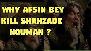 Shahzade numan meets his end. Why Afsin bey kill shahzde numan?