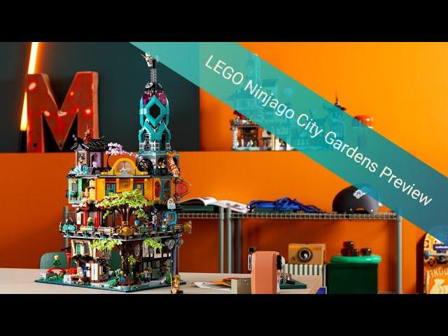 Das bis jetzt BESTE Set aus 2021 | LEGO 71741 Ninjago City Gardens Preview