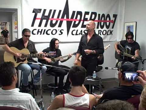 Queensryche - Eyes of a Stranger (Acoustic at KTHU, Chico)
