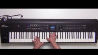 Roland RD-800 - How to add effects to EP - Part 4 - Tremolo