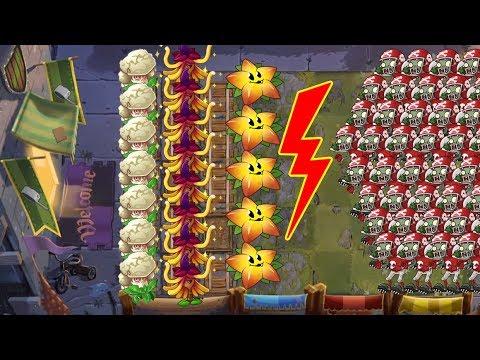 Plants vs Zombies 2 Battlez - Caulipower vs Witch Hazel
