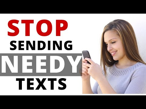 How To Not Be Needy Through Text   |  Texting  Girls Tips part 1