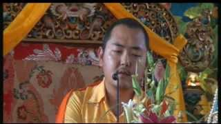 2012-02-28 afternoon - The 37 Practices of Bodhisattva teaching by HE Khamtrul Rinpoche