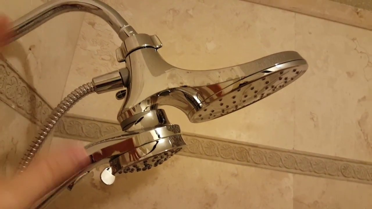 Moen 26008 Magnetix Shower Head 2-in-1 Combo Magnetic Chrome ...