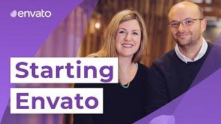 Starting Envato | Collis and Cyan Ta'eed