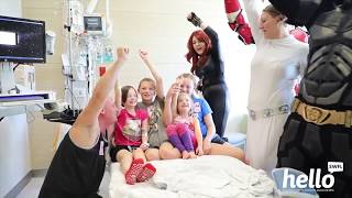 Heroes Unmasked Putting Smiles on Kids' Faces in a Time of Need