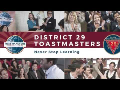 District 29 Toastmasters Leadership Institute