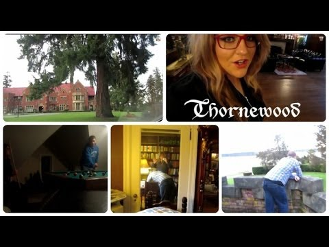 ADVENTURE TO THORNEWOOD CASTLE BED AND BREAKFAST! - February 25, 2014 - usaaffamily vlog