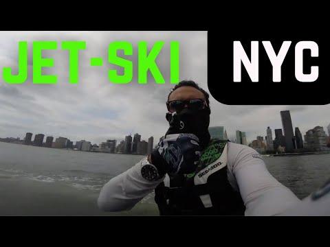 BogoFlo Jet ski ride around Manhattan