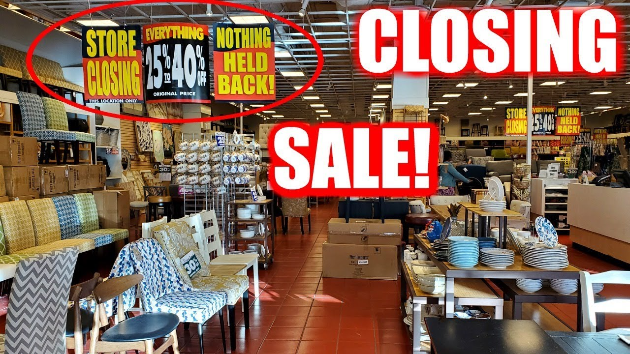Home-Decor Retailer Pier 1 Looks To Close For Good
