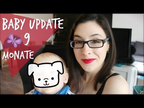 Baby Update 9 Monate - Ernährung 👶 Bewegung ♥ Babykurse ✿ Vlog | DaemonSadi