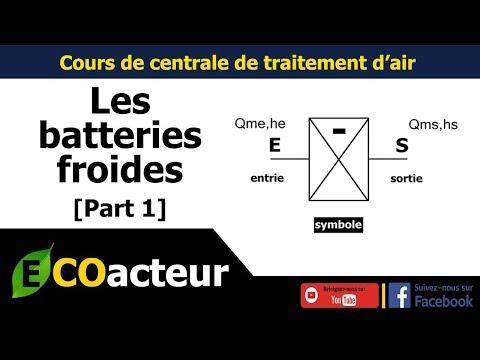 CTA - Dimensionnement de la batterie froide [part 1]