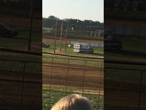 Midget cars at spoon river speedway