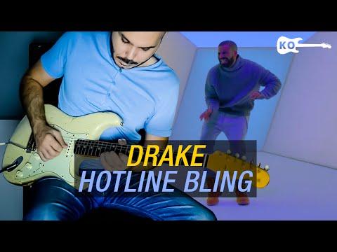 Drake - Hotline Bling - Electric Guitar Cover by Kfir Ochaion