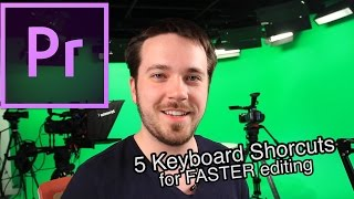 5 Keyboard Shortcuts for Faster Editing in Adobe Premiere Pro CC