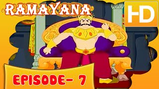 Ramayan Short Story For Kids |  Ramayan in Hindi | Animated Cartoon Story For Kids Ep 7 | Kahaniyaan
