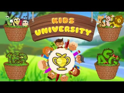Kindergarten Kids University | Free Educational and Learning Games for Kids