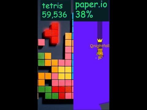 Paper io/tetris