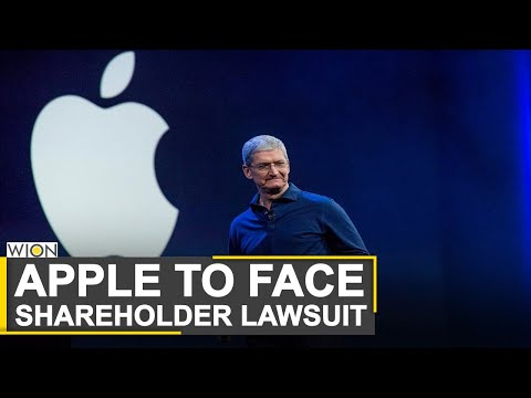 World Business Watch: Apple to face lawsuit over CEO Tim Cook's 2018 China sales comments |WION News