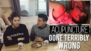 Acupuncture Gone Terribly Wrong in Korea 한의원 시술 후 응급실로 갔어요ㅠㅠ