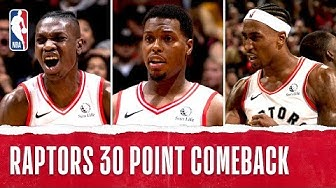 Raptors Complete Largest Comeback in Franchise-History!