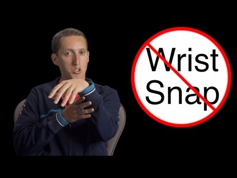 """""""Wrist Snap"""" Myth Busted - Tennis Serve Lesson - Tennis Serve Technique - Roger Federer Serve"""