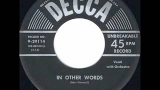 In Other Words (original) - Kaye Ballard 1954.wmv