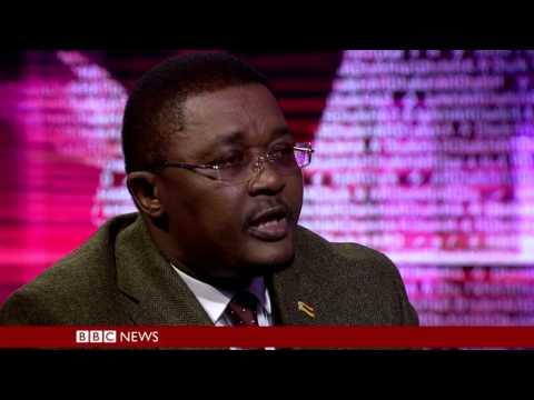 Zimbabwe Tourism Minister Walter Mzembi on BBC HARDtalk pt2