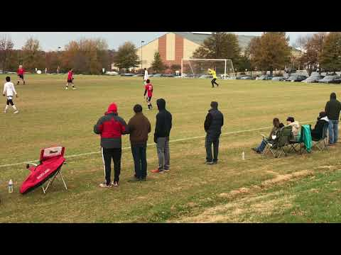 Empire United U18 vs Mongomery Rush 11/18/2017. Bethesda, MD