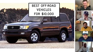homepage tile video photo for We Find the Best Off-Road Vehicles for $10,000: Window Shop with Car and Driver