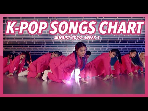 TOP 100 K-POP SONGS CHART  AUGUST 2019 WEEK 1