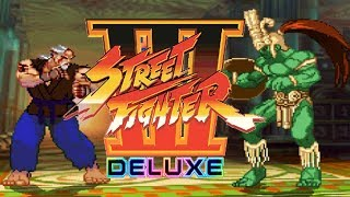 STREET FIGHTER III DELUXE 【MUGEN】  - PC LONGPLAY - Sheng Long (SF3) [NO DEATH RUN] (FULL GAMEPLAY)