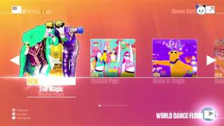 Just Dance 2018 | Menu Song List (Official) | Old Generation (WII)