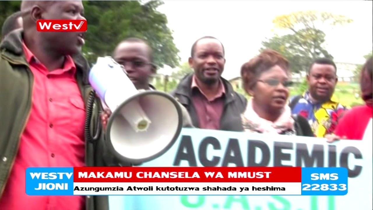 Katibu wa COTU hatatuzwa shahada ya Heshima kutoka MMUST- Prof. Otieno